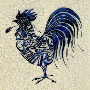 """IM 05 - Cockerel """"Everyone is the age of their heart"""""""