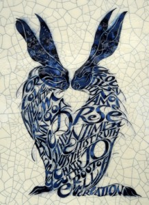 "Im 59 - Two Hares ""For love is the ultimate meaning of everything around us. It is not a mere sentiment; it is truth; it is joy that is at the root of all creation"""