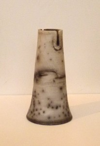 Christina Peters slotted vase