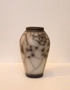 Christina peters raku vase