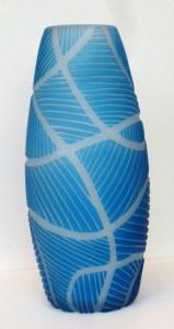 richi alli blue vase