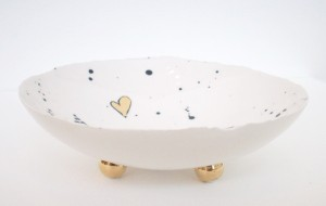 Frances Spice Bird Bowl Side View