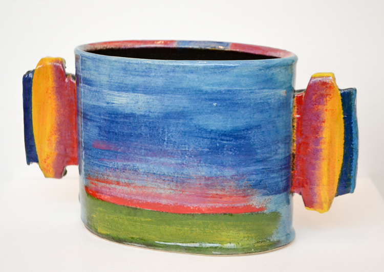 Winged Pot by John Pollex