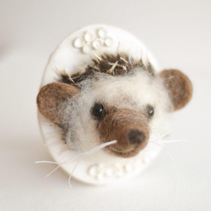 Tracey Benton - Hedgehog Wallpiece
