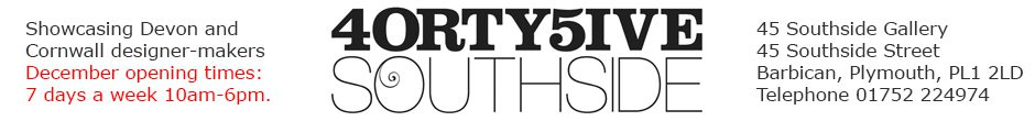 45 Southside – Art Gallery – Barbican, Plymouth