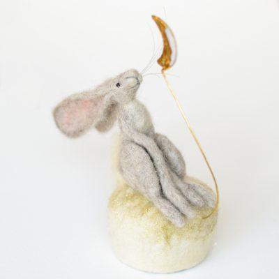 Tracey Benton - Musical Moon Gazing Hare