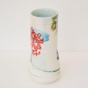 Helen Harrison, ceramics, vase, art, Plymouth, 45Southside Gallery, Devon, studio pottery, handmade