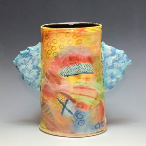 John Pollex - Large Winged Pot, Vas