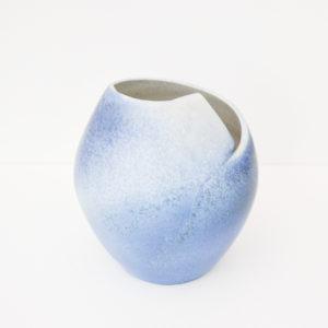 Karen Carlyon, porcelain penguin vase