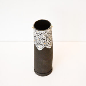 Frances Spice Black Stem Vase