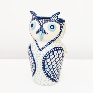Lincoln Kirby-Bell - Blue Owl Vase