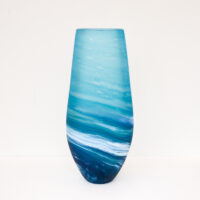 Richard Glass – Tall Seaspray Vase