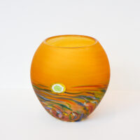 Richard Glass - Round Moorland Vase