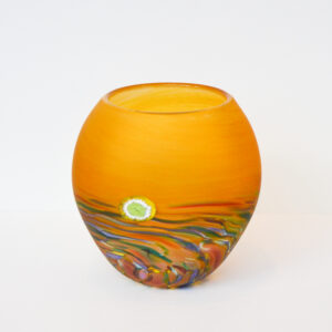 Richard Glass - Round Moorland Vase