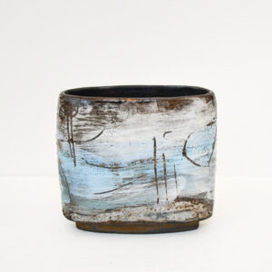 Susan Luker - Lava and Crackle Glaze Pot