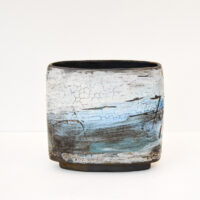 Susan Luker - Lava and Crackle Glaze Pot
