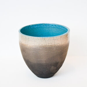 Tim Welbourne - Raku-fired Vessel