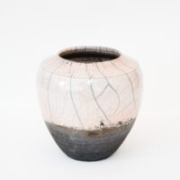 Tim Welbourne - Raku-fired Pot