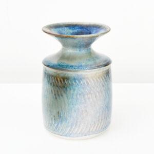 Hugh West - Porcelain Bottle Vase with flared top