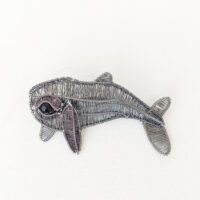 Kate Packer - Wire Whale Brooch