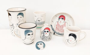 Wild Swimming Ceramics by Lucie Sivicka