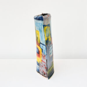 John Pollex - Large Slab Vessel Vase