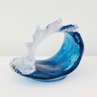 Richard Glass – Blue Wave Sculpture