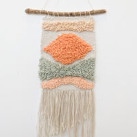 Sarah Platten-Higgins - Abstract Woven Wall Hanging