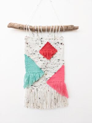 Sarah Platten-Higgins - Geometric Woven Wall Hanging