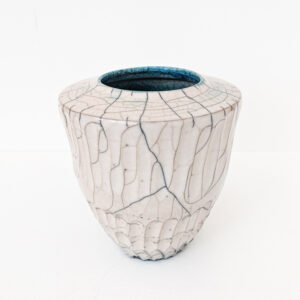 Tim Welbourne Raku Vessel