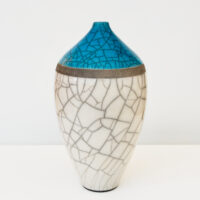 Dan Chapple - Raku Fired Bottle