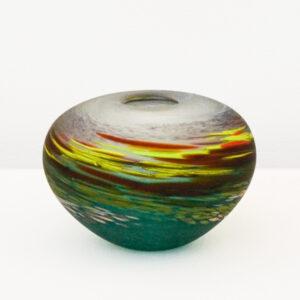 Richard Glass – Small Moorland Pebble Vase
