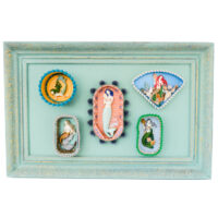 Emma Jones - Mermaid Nicho Tin Wallpiece
