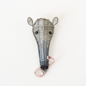 Kate Packer - Wire Anteater Brooch