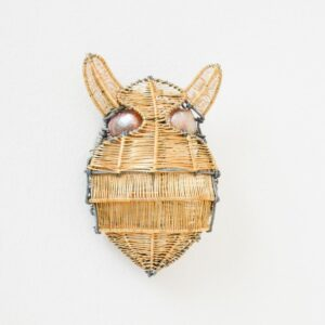 Kate Packer - Wire Beetle Brooch