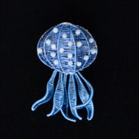 Kate Packer - Wire Jellyfish Brooch
