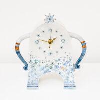 Sarah McCormack - Blue Stroppy Clock