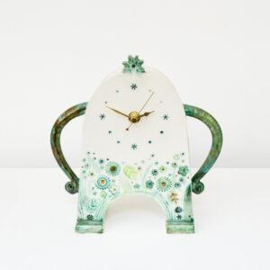 Sarah McCormack - Green Stroppy Clock