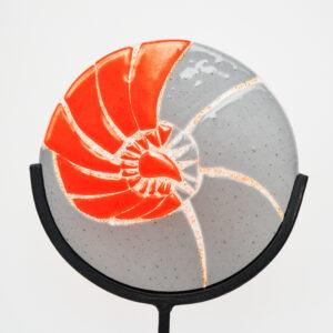 Susan Dare-Williams - Glass Ammonite Sculpture