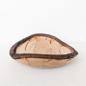 Brian Ivey - Beech Wood Platter Bowl