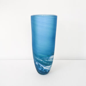 Richard Glass – Tall Seaspray Vase