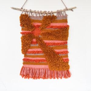 Sarah Platten-Higgins - Abstract Woven Wall Hanging