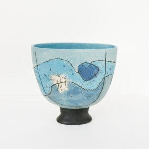 Janie Ramsay - Oval Landscape Vase