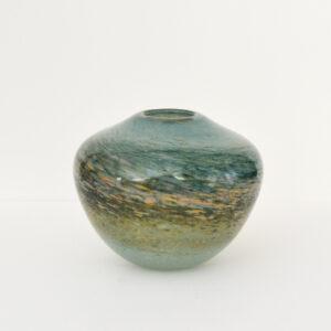 Richard Glass – Mother of Pearl Pebble Vase
