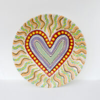 Lincoln Kirby-Bell - Large Heart Wall Plate