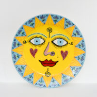 Lincoln Kirby-Bell - Large Sun Wall Plate